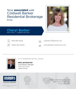 Cheryl Barber Agent Announcement FB 3a
